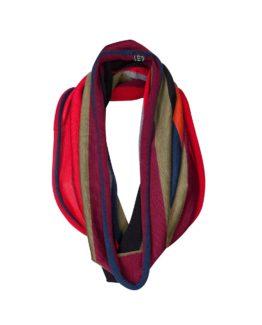 Collo ad anello di lana -fw1709- vista frontale