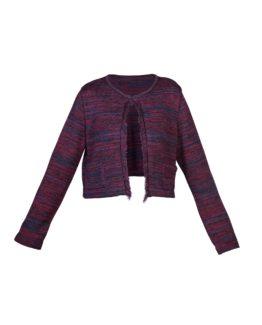 Giacchino di lana corto melange - fw1702b - vista frontale