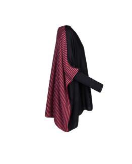 Maglia Poncho di lana -fw1707- vista laterale
