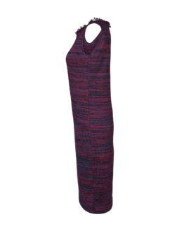 Tubino elegante di lana -fw1708- vista laterale