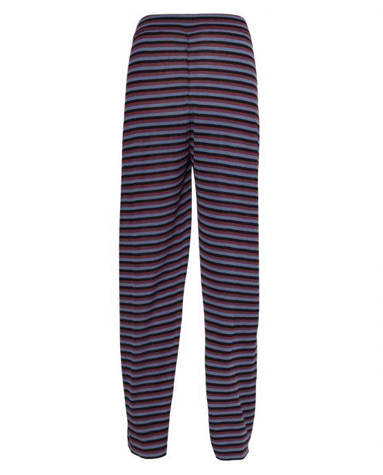 Pantalone di maglia tricolore