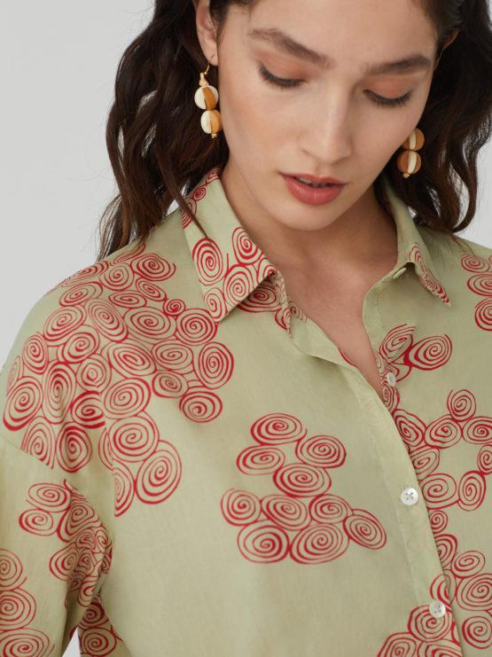 Camicia Spirals