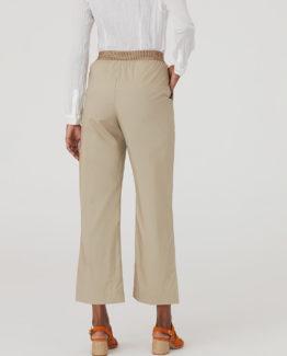 Pantalone Popeline Beige