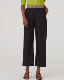 Pantalone Popeline Nero