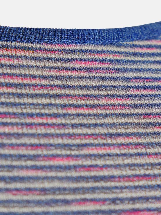 Maglia a Righe Blu
