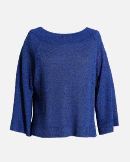 Maglia Melange Blu